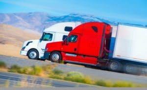 inattentive truck drivers